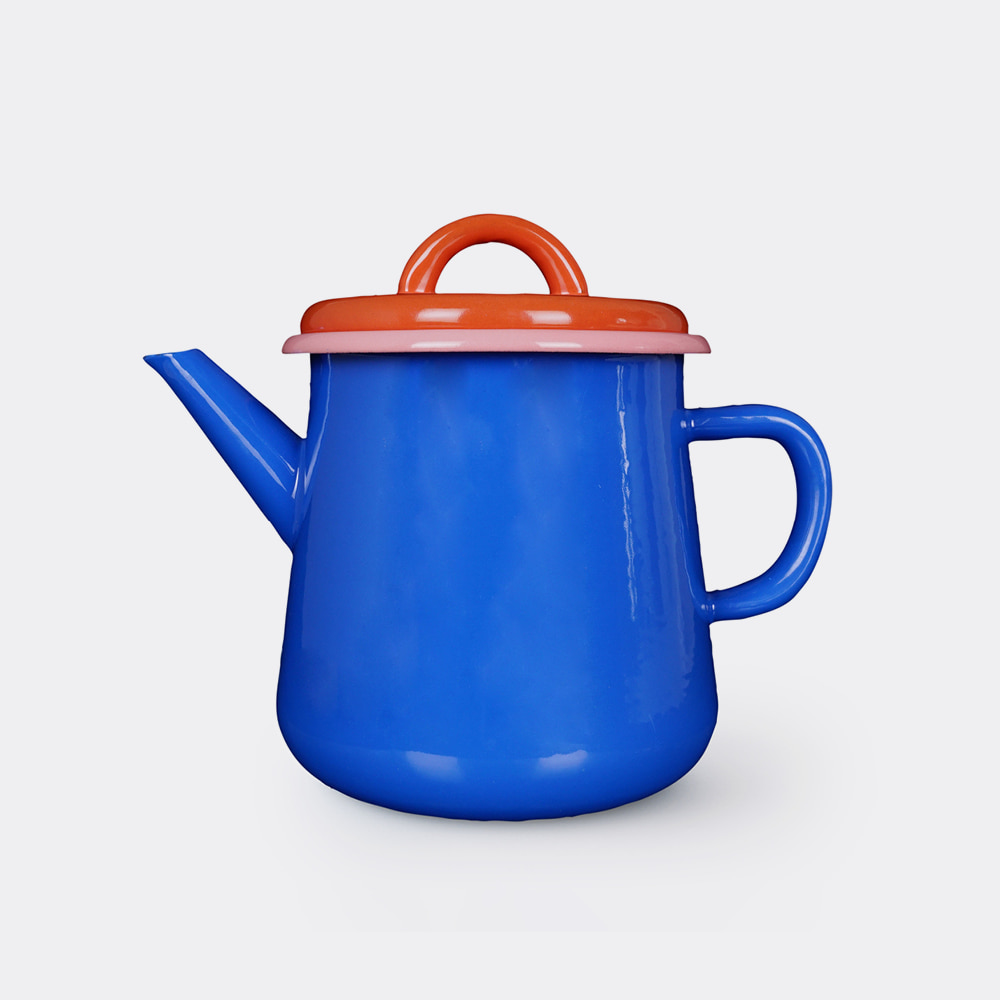 [BORNN] Colorama Tea Pots-Blue & Orange