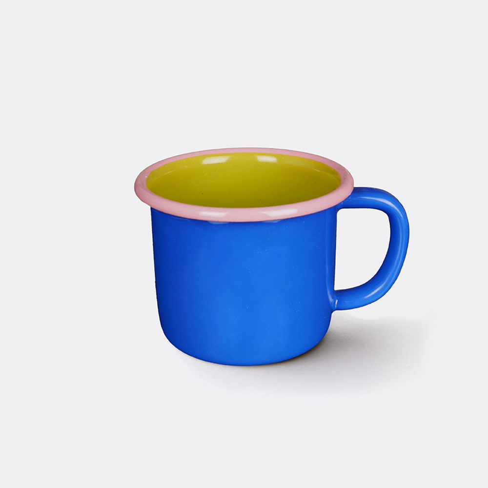 [BORNN] Colorama Mug- Blue & Lime