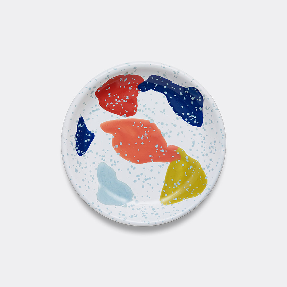 [BORNN] Kids & Family Plate- White